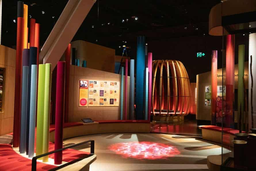 New exhibition space Ngalang Koort Boodja Wirn at Boola Bardip.