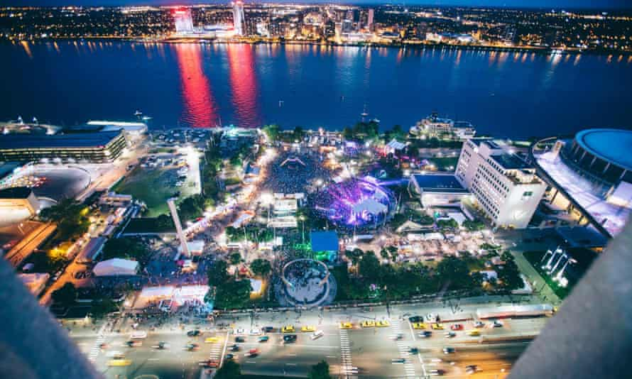 Movement Electronic Music Festival 20156