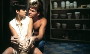 Cheesy charm … Demi Moore and Patrick Swayze in Ghost.