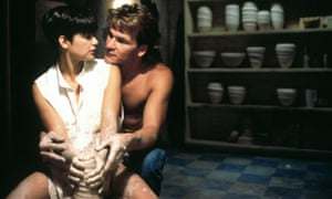 Demi Moore and Patrick Swayze.