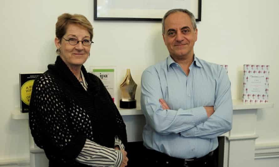 Juliet Mabey and Novin Doostdar