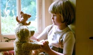 Will Tilston as Christopher Robin in Goodbye Christopher Robin.