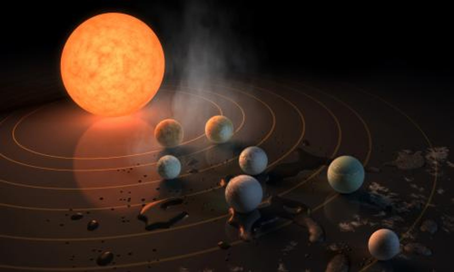 Exoplanet Discovery Seven Earth Sized Planets Found Orbiting Nearby Star