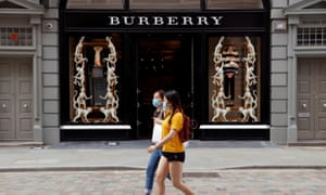 Coronavirus disruption has dented sales at Burberry.