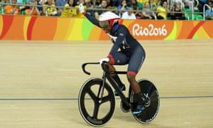 Kadeena Cox at the Rio 2016 Paralympic Games.