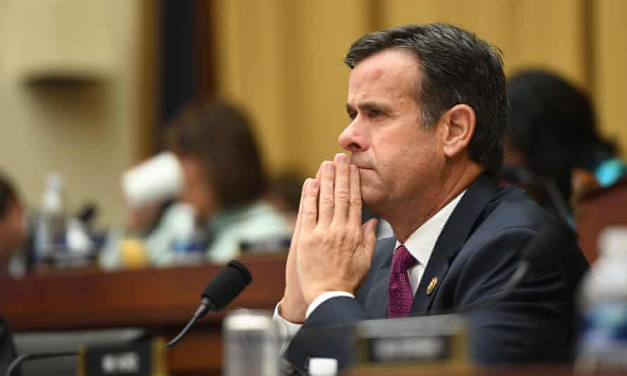 Democrats have criticised John Ratcliffe for deciding to provide election security updates largely in writing, arguing it will mean oversight panels cannot properly scrutinise the measures.