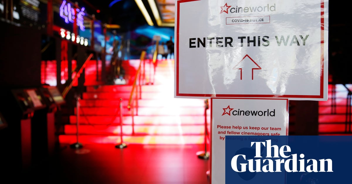 Cineworld issues warning over future after £1.3bn loss - The Guardian