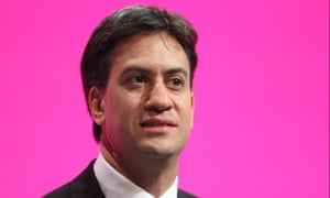 Ed Miliband at the 2014 Labour conference