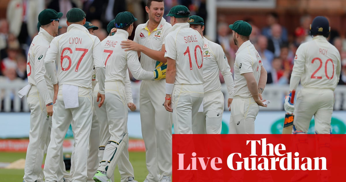 Ashes 2019: England v Australia second Test, day two – live!
