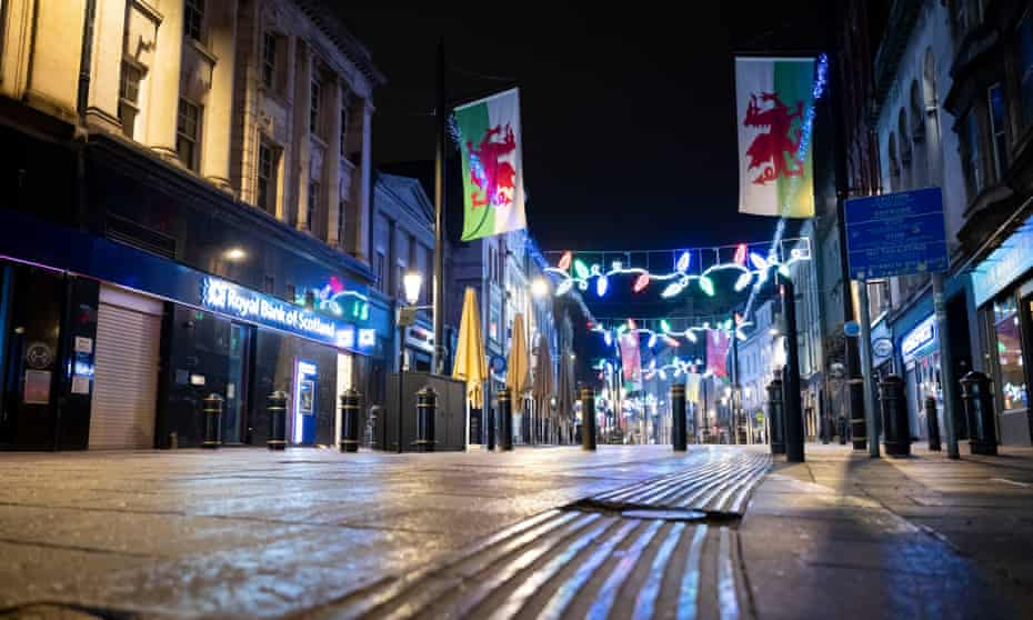 Cardiff venues closed in December 2020 after a coronavirus 'firebreak' in the autumn