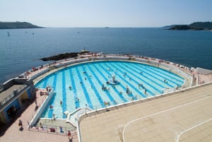 The Tinside Lido in Plymouth will be among the sites allowed to open in England following further easing of lockdown measures.