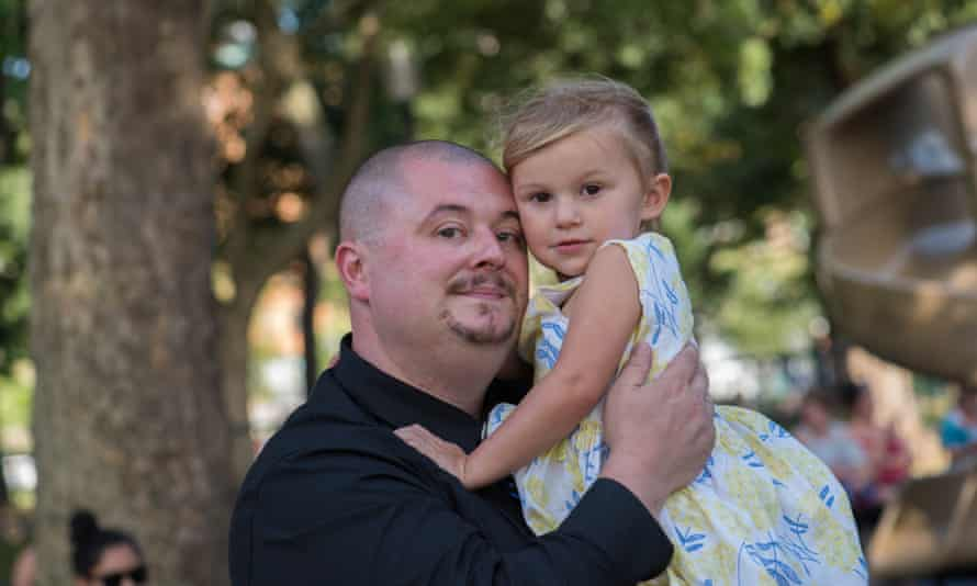 Chris Carlson with his daughter, Summer Carlson.