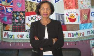 Lorna Jackson of Maryland primary school