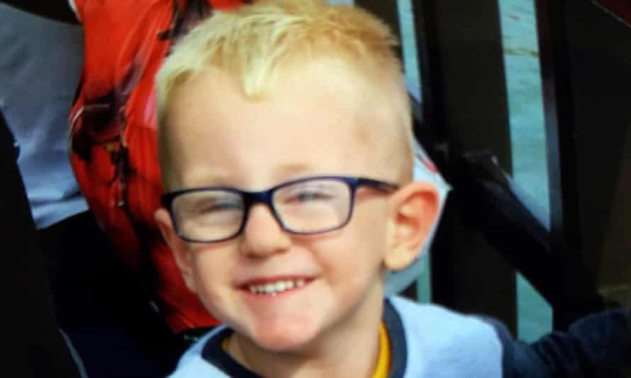 Three year old Leo Durrington