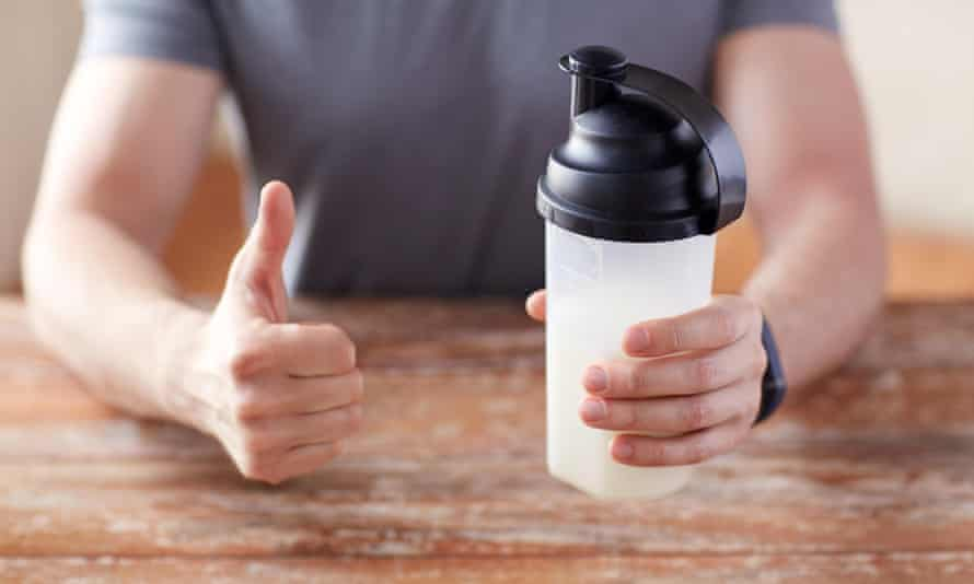 'Mmmmm delicious!' said no one, ever, after drinking a protein shake