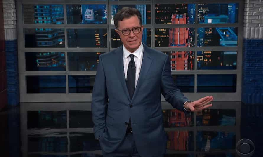 Stephen Colbert: 'So he went into space and somehow became extra divorced.'
