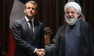 Emmanuel Macron, the French president, attempted to facilitate a three-way phone call with Hassan Rouhani and Donald Trump, reports say.
