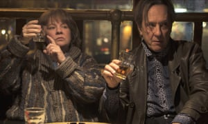 McCarthy with Richard E Grant in Can You Ever Forgive Me?