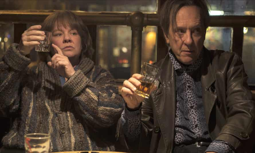 McCarthy and Richard E Grant in Can You Ever Forgive Me?