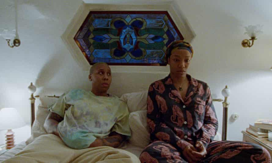 Change of perspective ... Lena Waithe as Denise and Naomi Ackie as Alicia in Master of None.