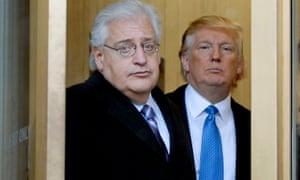 David Friedman with Donald Trump.