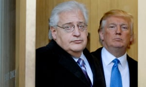 David Friedman with his then client Donald Trump at a US bankruptcy court in 2010.
