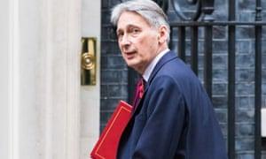 Philip Hammond on Downing Street