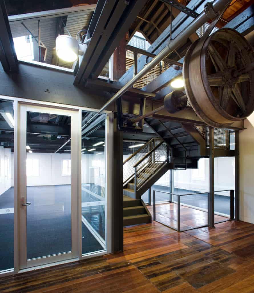 Sydney's Crago Flour Mill was converted into 47 strata studios.