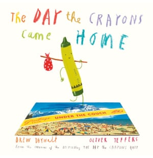 The Day the Crayons Came Home illustrated by Oliver Jeffers, written by Drew Daywalt (HarperCollins)