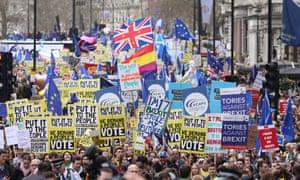anti-Brexit march
