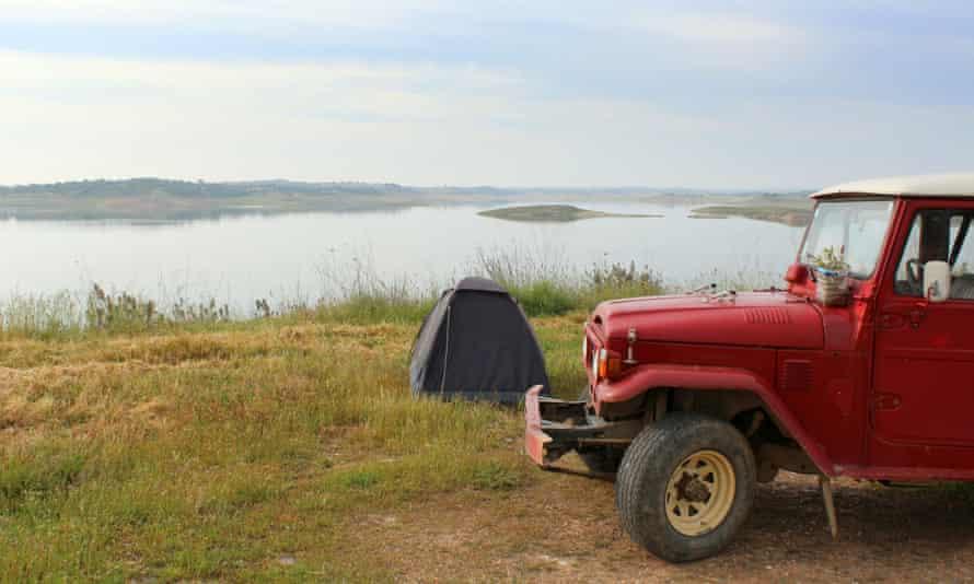 Camping at Monte da Rocha