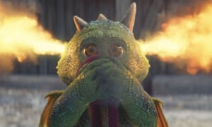 John Lewis Christmas advert 2019, featuring a baby dragon.