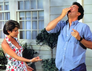 Tom Hanks and Carrie Fisher in The Burbs
