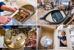'There's nothing off limits' … boats, brass, polyphon and other RSC props.