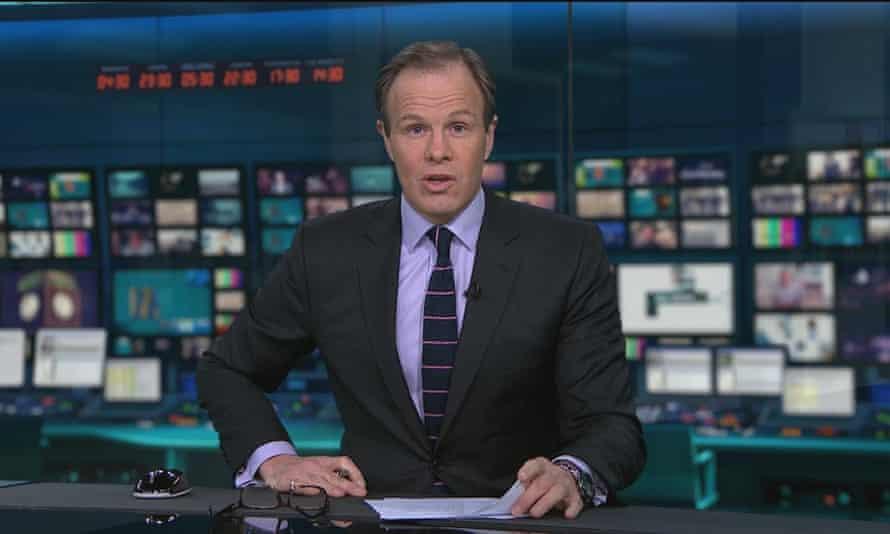 Tom Bradby on News at Ten
