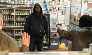 Mr Invincible … it's the mix of crime drama and comic-book silliness that makes Luke Cage must-view TV.