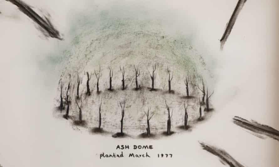Sketch of Ash Dome