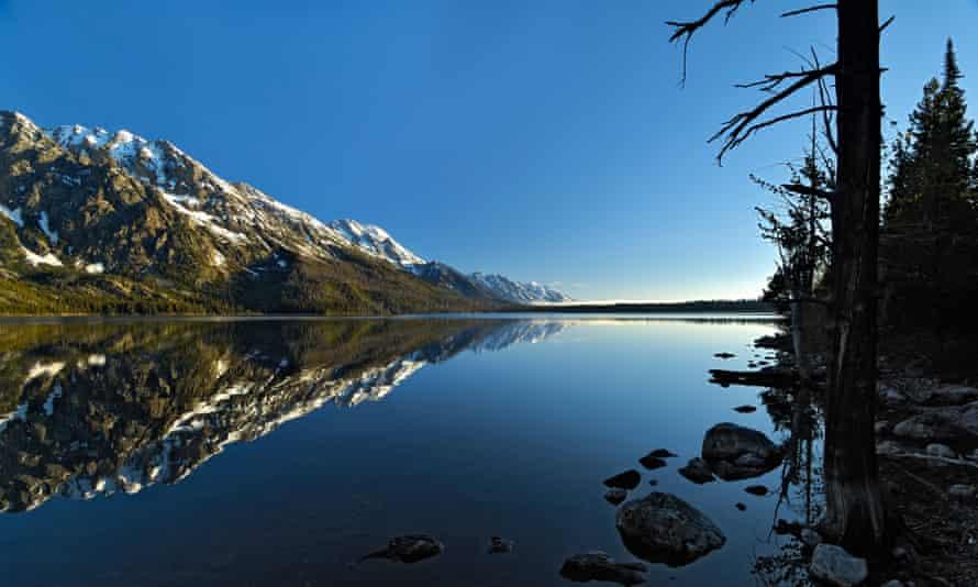 Dawn in Grand Teton National Park.