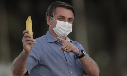 Jair Bolsonaro … fruity.