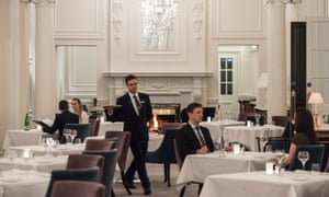The 1906 restaurant at the Trump Turnberry hotel