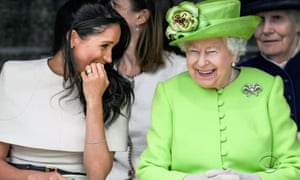 meghan and the queen