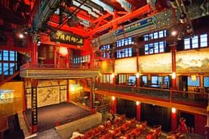 Wooden theatre in Beijing
