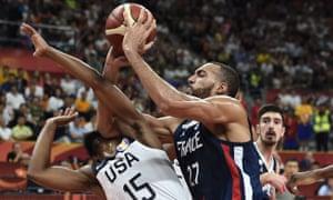 Basketball World Cup, France v USA