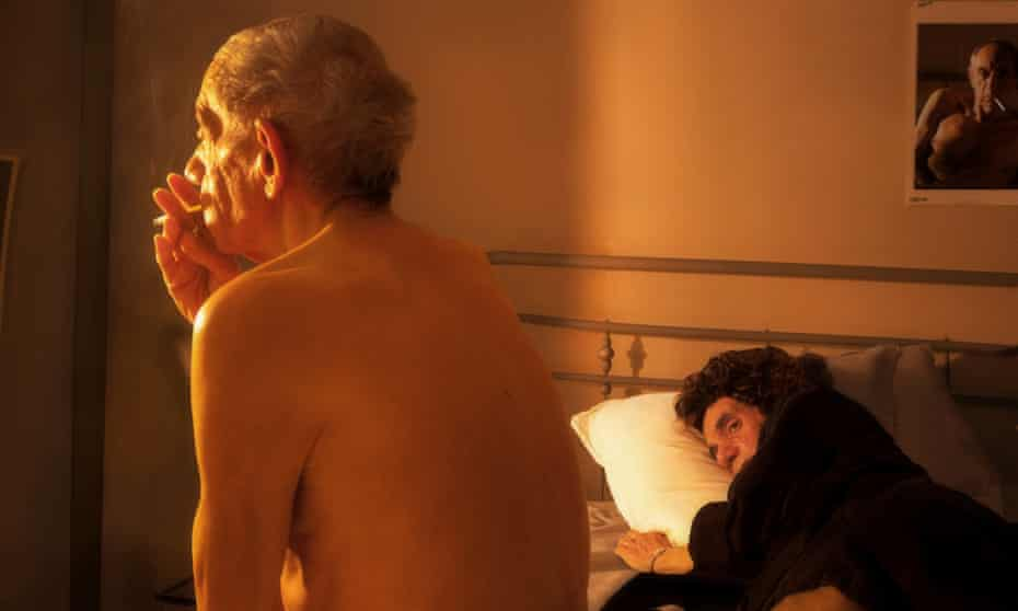 A tribute to Nan Goldin, Nan and Brian in Bed, NYC, 1983.