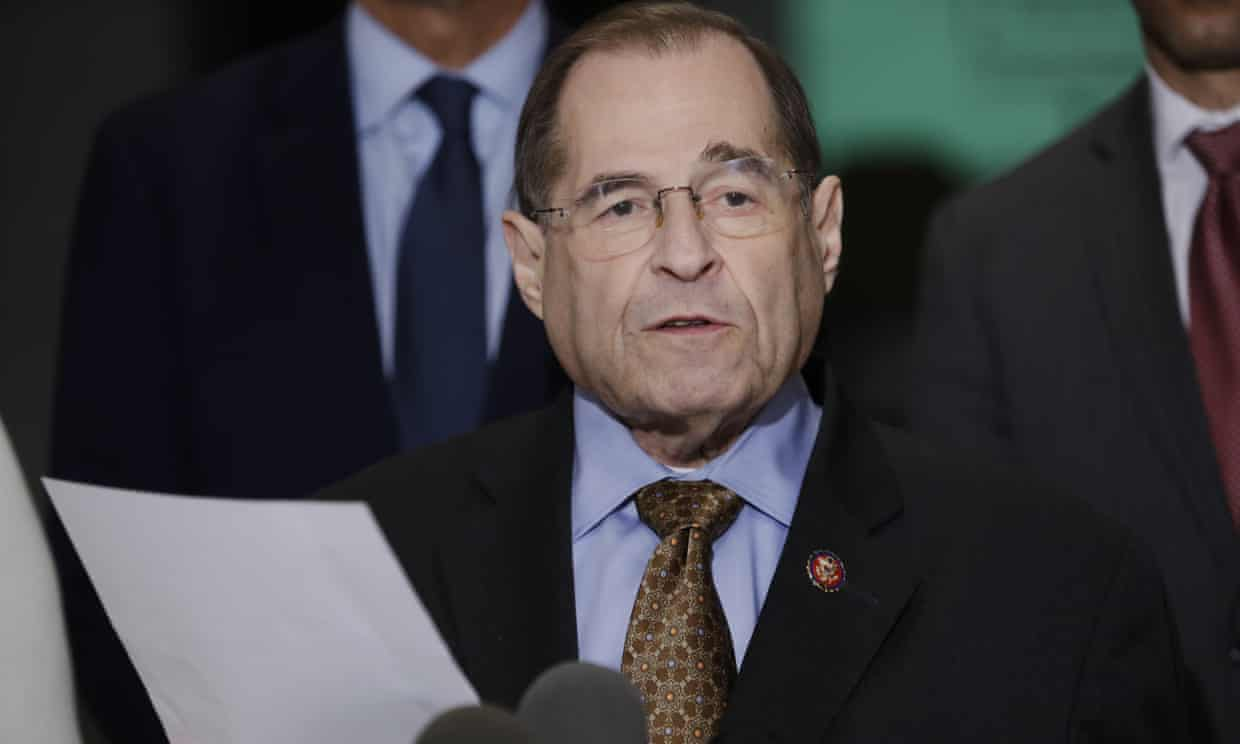 Jerry Nadler, chairman of the House judiciary committee, at the press conference.