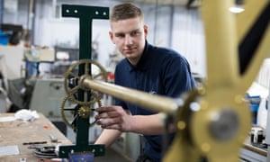Apprentice Sam Schoonderwoerd