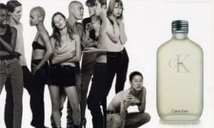 Calvin Klein advertising from 1994