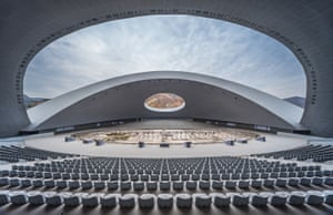 Lanzhou, ChinaChinese Culture Exhibition Center by Qingdao Tengyuan Design Institute Co., Ltd
