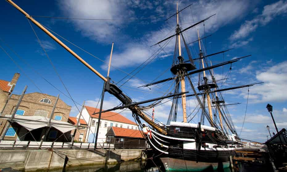 HMS Trincomalee 1817, the centrepiece of Hartlepool's Maritime Experience.