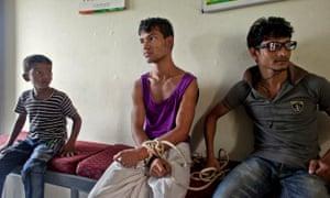 patient at Pabna mental health hospital, Bangladesh